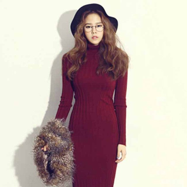 Autumn Winter Dress for Women