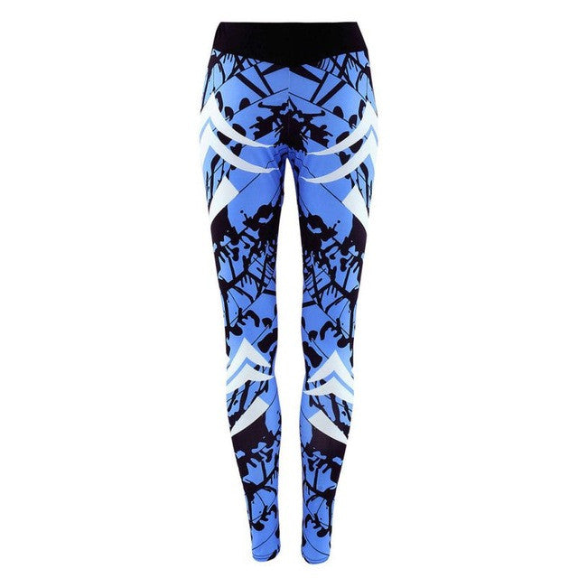 Women Sports Yoga Pants 3D Printed Legging