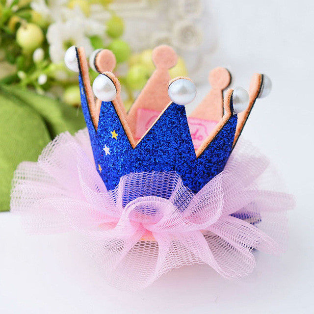 1 pcs Lovely Crown For Baby (Princess Hair Clip)