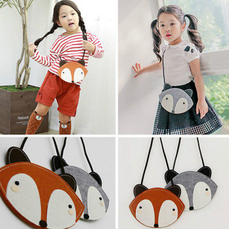 Fox Toddler Kid Shoulder Bag