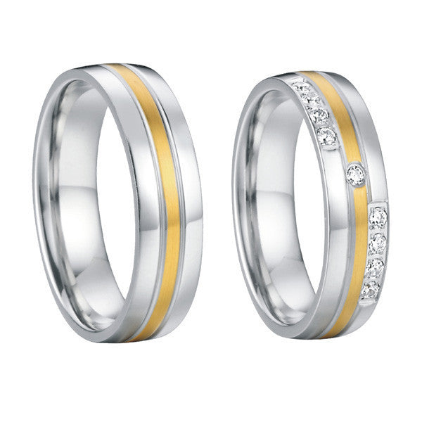 Classic Wedding Bands (rings) For Couples