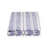100% LINEN PILLOWCASE SET - VINTAGE MUSCAT STRIPE. - TOW AND LINE