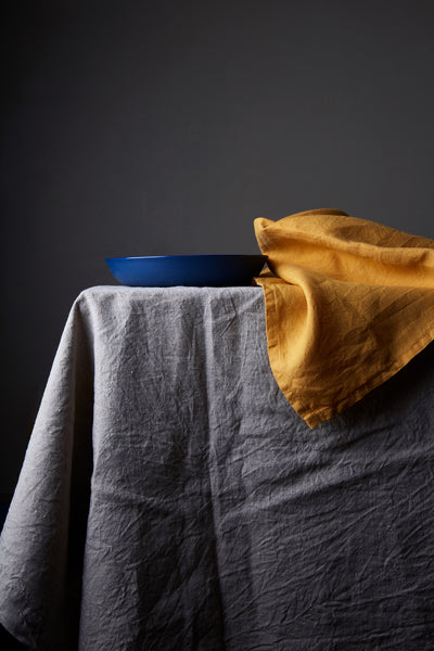 100% Linen Table Cloth - Natural