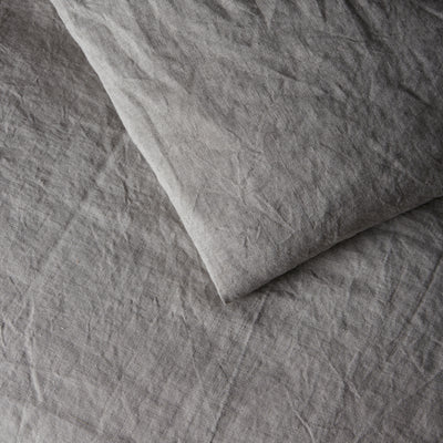 100% Linen Duvet Cover - Natural