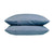 100% Linen Pillowcase Set - Lake Blue