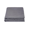 100% Linen Pillowcase set - Charcoal