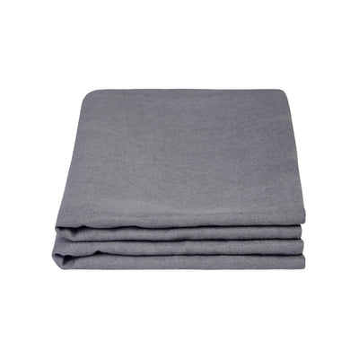 100% Linen Pillowcase set - Charcoal - TOW AND LINE