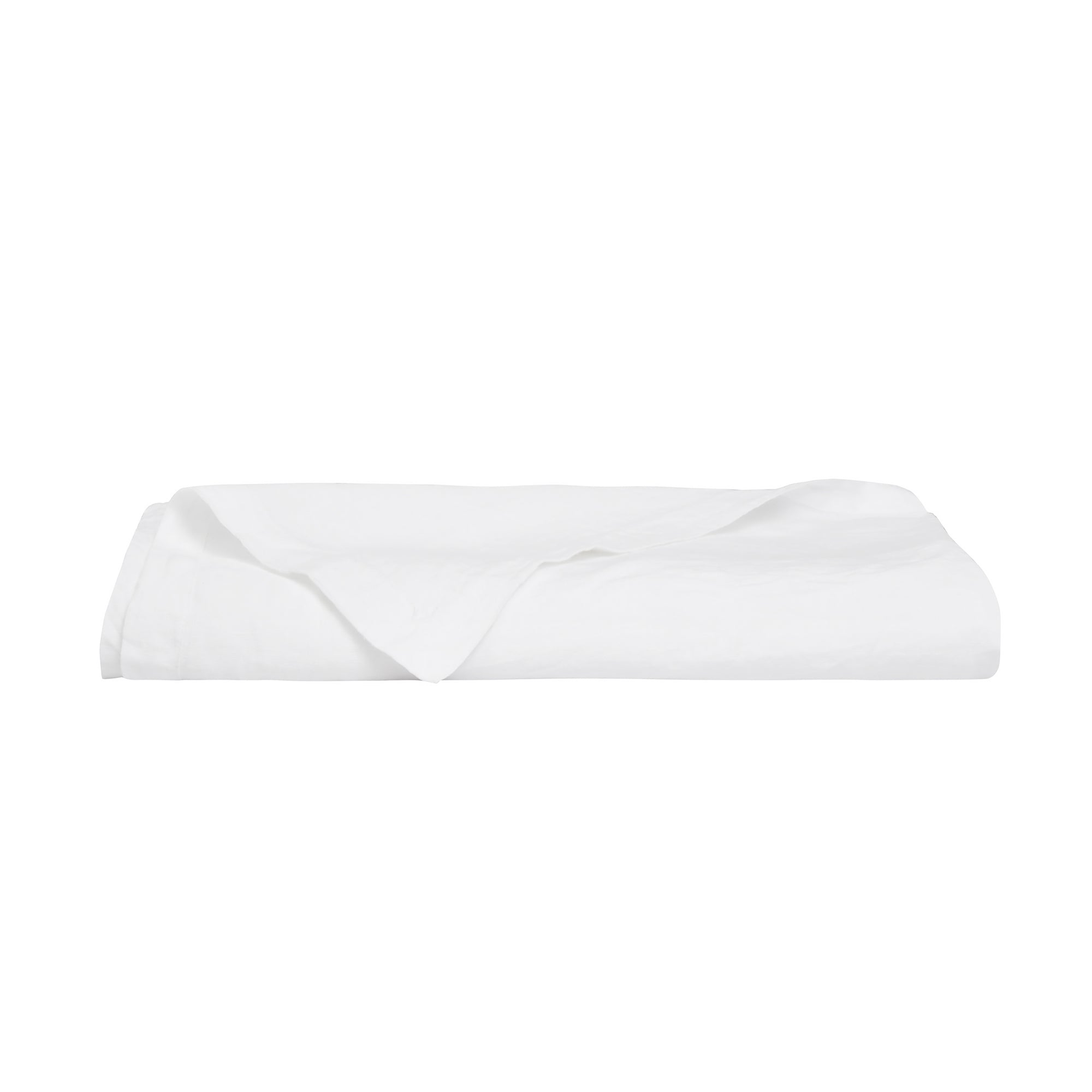 100% Linen Table Cloth XL- White - TOW AND LINE