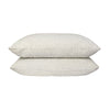 100% Linen PIllowcase set - Olive Stripe. PRE ORDER DECEMBER DELIVERY