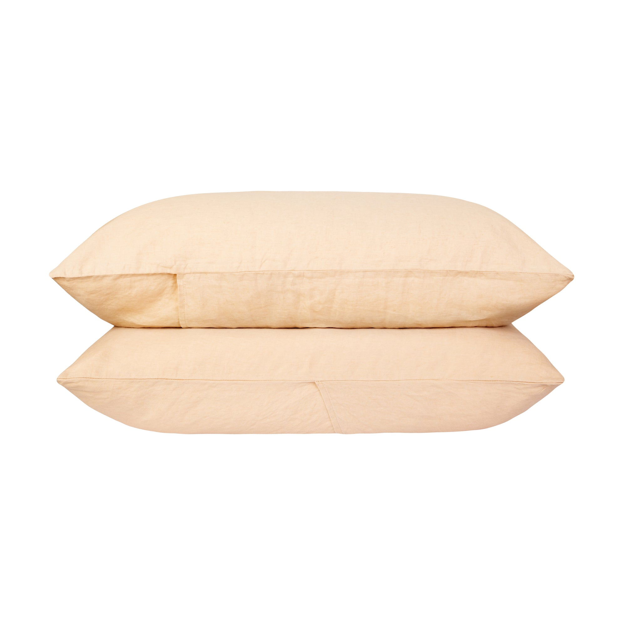 100% Linen Pillowcase set - Oat. - TOW AND LINE