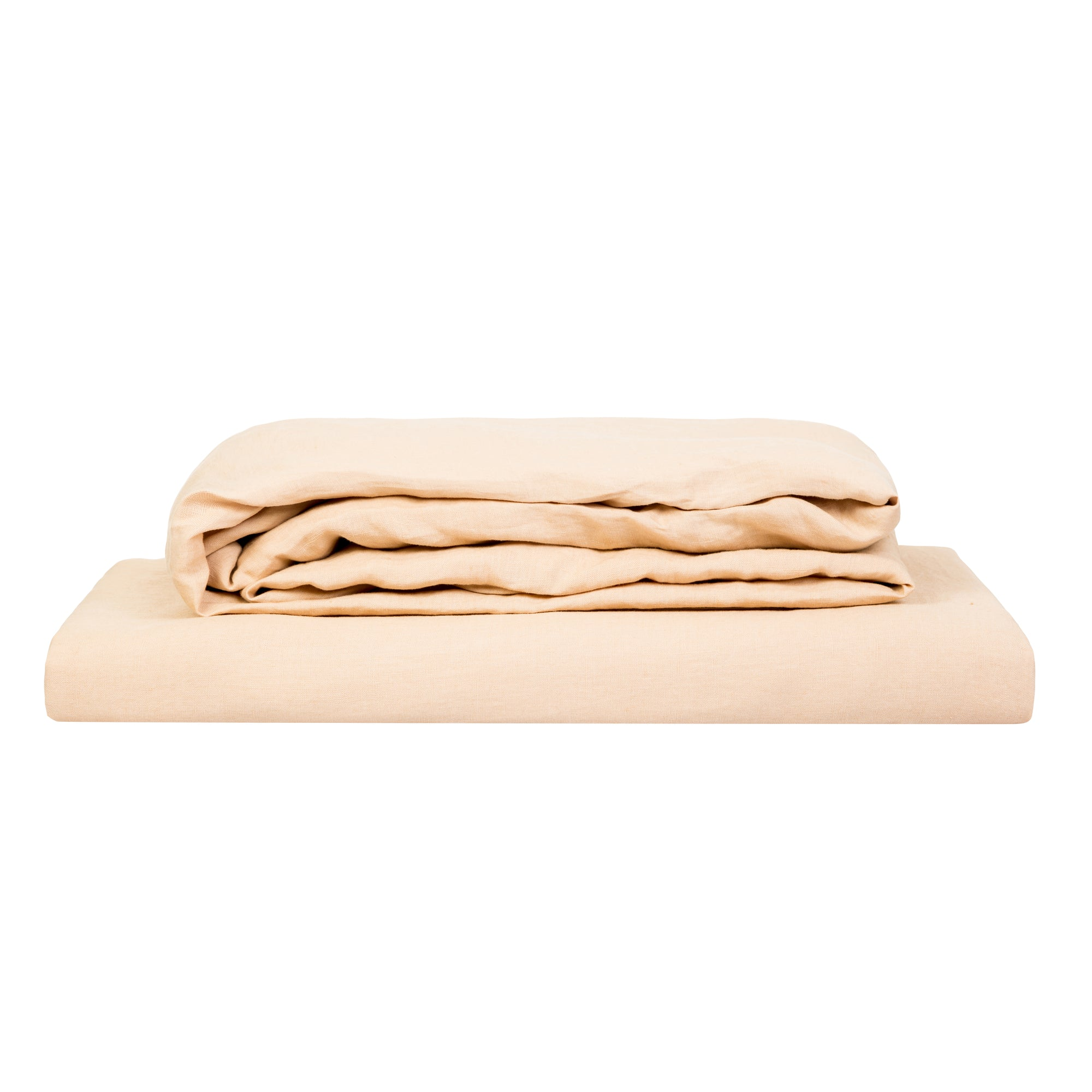 100% Linen Sheet Set - Oat - TOW AND LINE