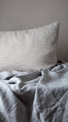 100% Linen Sheet Set - Pale Grey - TOW AND LINE