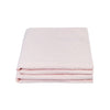 100% Linen Pillowcase set - Floss Pink