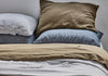 100% Linen Pillowcase set - Olive. - TOW AND LINE
