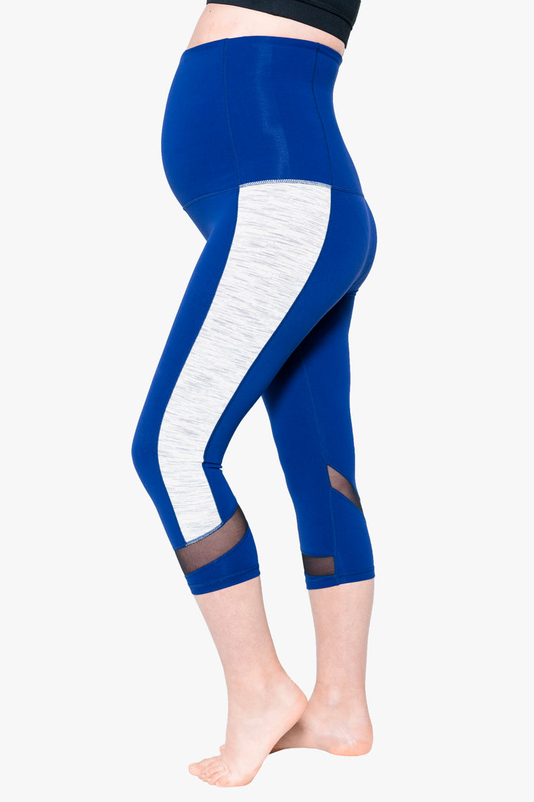 Essential 3/4 length pregnancy tight – Blue Skies Ahead