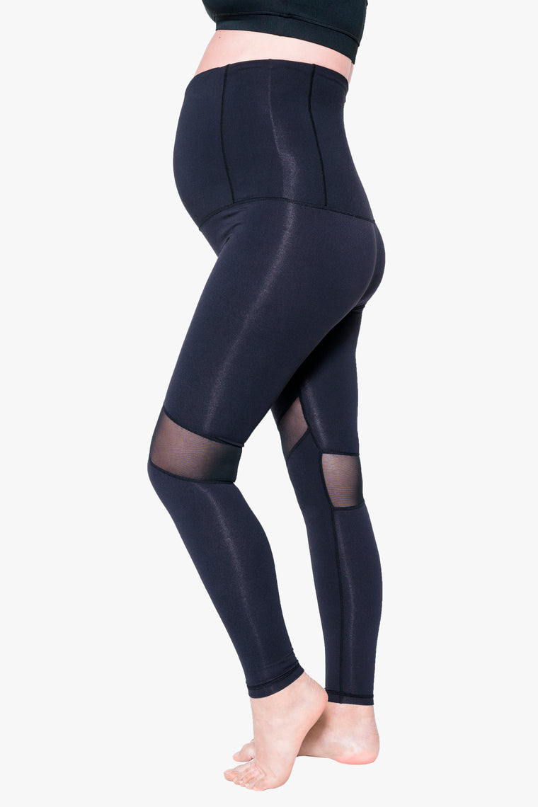 Essential full length pregnancy tight – Jet Black