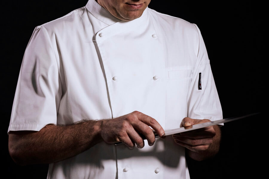 13e03f29267 Understanding the Professional Chef s Unform. The traditional professional  chef s uniform consists of hat