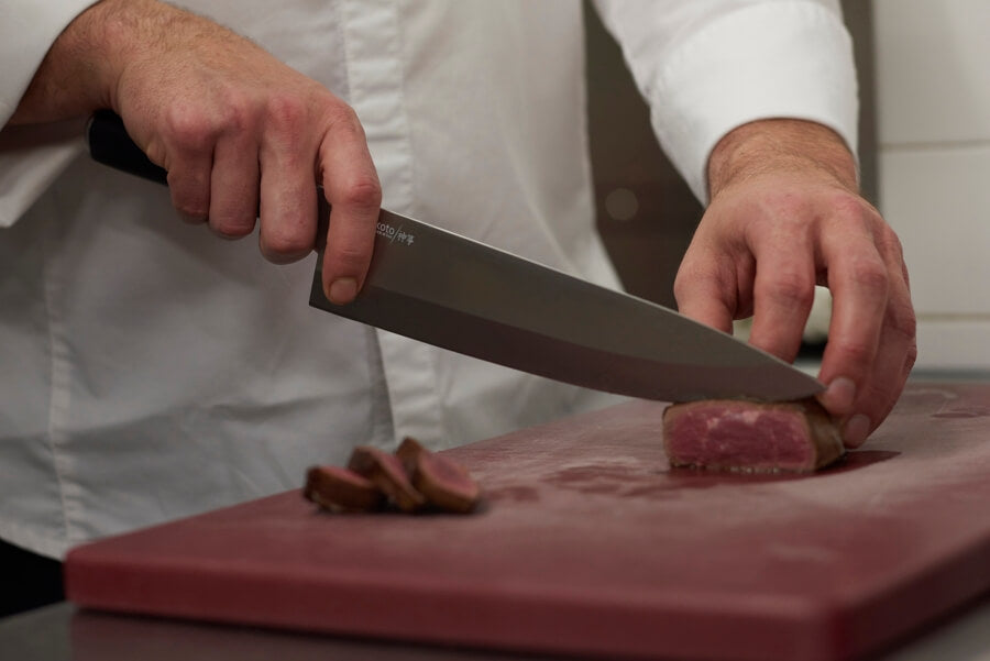The Difference Between a Chef's Knife and Santoku Knife