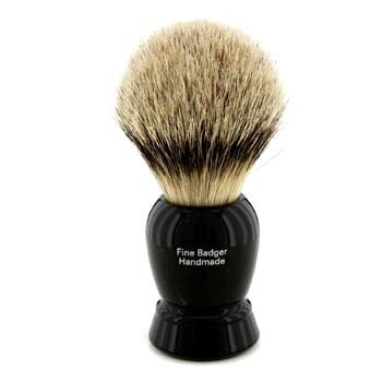Fine Badger Shaving Brush - Black 1pc