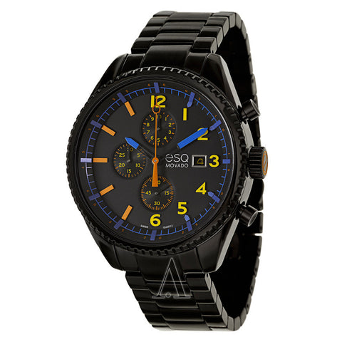 ESQ Movado® Men's 07301452 Catalyst Black PVD Watch