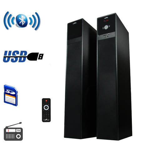 Sound Bluetooth Tower Speakers with optical input