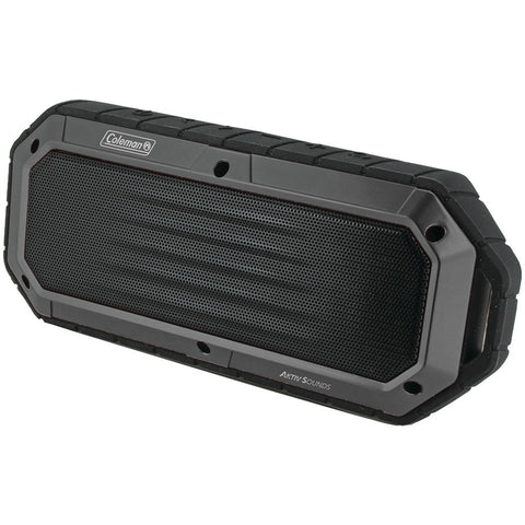 COLEMAN Aktiv Sounds(TM) Waterproof Bluetooth(R) Slim-Line Speaker (Gray)