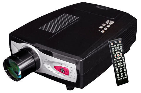 High-Definition Home Theater Multimedia Widescreen Projector - Up To 100-Inch Viewing Screen