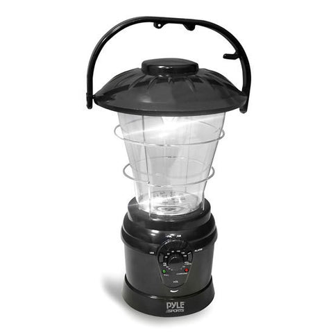 Multi Function Lantern / AM/FM Radio (Rechargeable with Hand Crank)