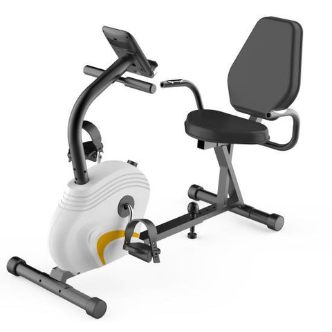 Home/Office Recumbent Exercise Bike - Bicycle Pedaling Fitness Machine