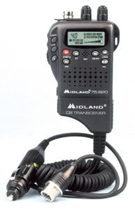 Handheld Mobile CB w/ Adapter