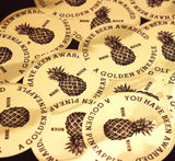Golden Pineapple Award - Sticker (5-Pack)