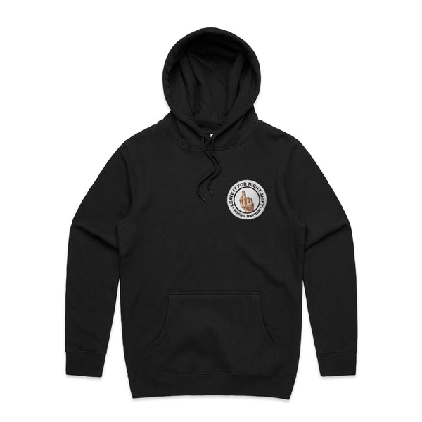 Leave It For Night Shift - Hoodies (Black)