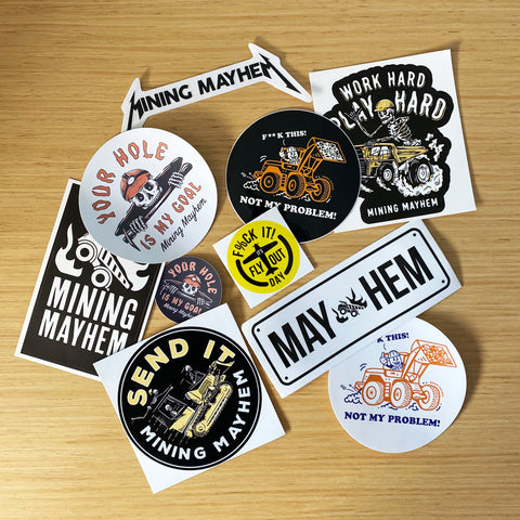 10 Pack of Stickers