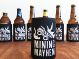 6 PACK of Mining Mayhem Stubby Coolers - Save $15!