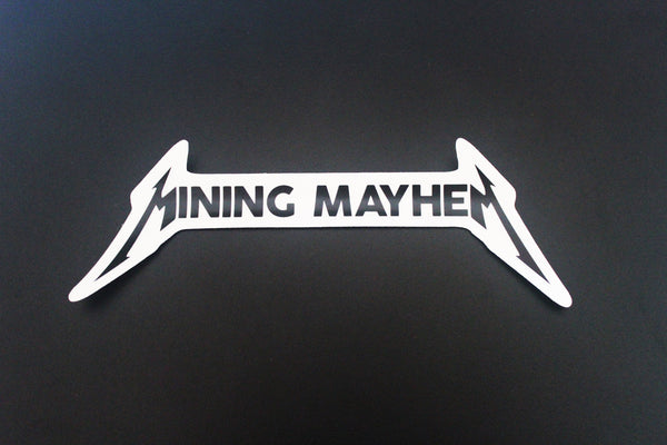 """Mining Mayhem Lightning"" - Sticker (Single)"
