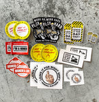 Assorted Mining Mayhem Stickers - 20 Pack