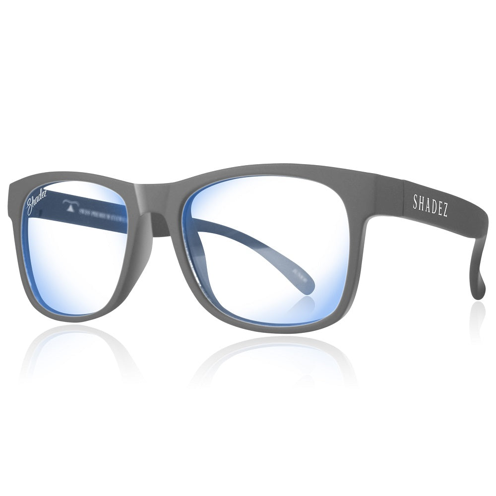 Blue Light Glasses Adult - Grey