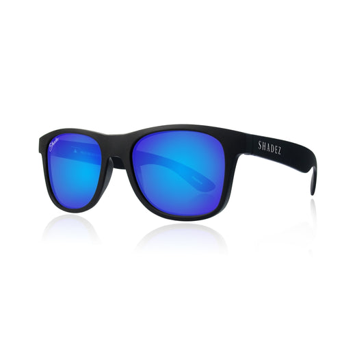 Sunglasses Black/Blue - Adult