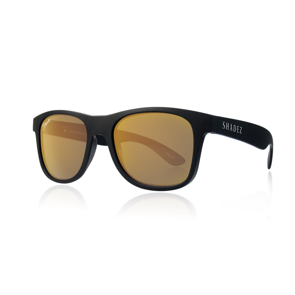 Sunglasses Black/Gold - Adult