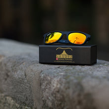 Sunglasses Black/Yellow - Adult