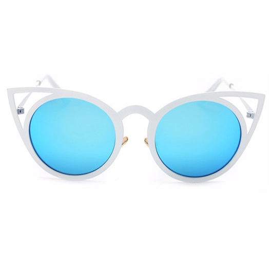 Kitty Cat Rose Gold Black Mirror Blue Silver Purple Osaka Shades Sunglasses Sunnies Beach Street Wear UV Protection