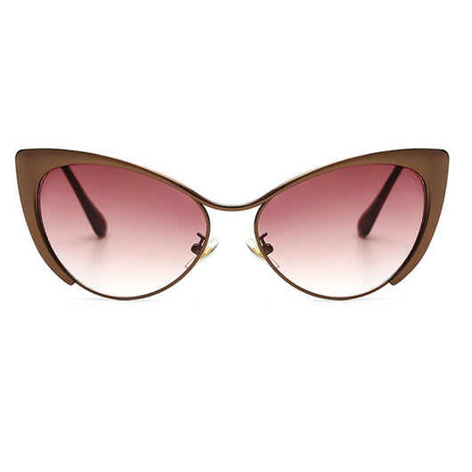 Anna Cat Eyes Luxury Womens Rose Gold Black Mirror Pink Silver Clear Lens Osaka Shades Sunglasses Sunnies Beach Street Wear UV Protection