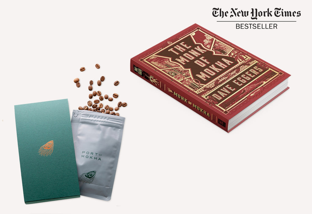 3 Month Prepaid Coffee Subscription and Monk of Mokha Book