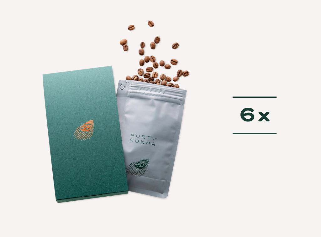6 Month Prepaid Coffee Subscription