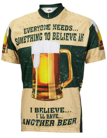 believe in beer  SportsWear Mens Cycling Jersey