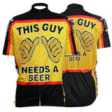 The Guy Need A Beer Breathable Cycling Jersey