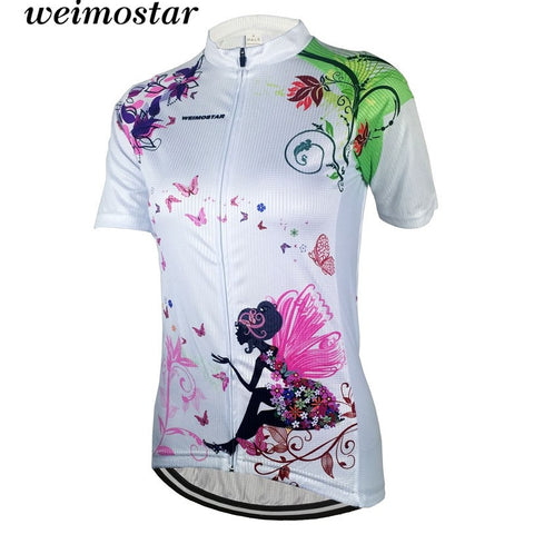 2017 women's Sportswear Cycling Jerseys short sleeve