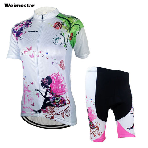 Women Cycling Jersey  Short Sleeve Jersey/Shorts