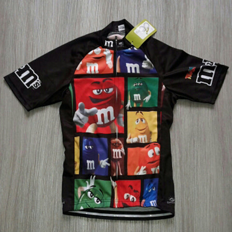 2017 Riding Men short sleeve cartoon cycling jersey