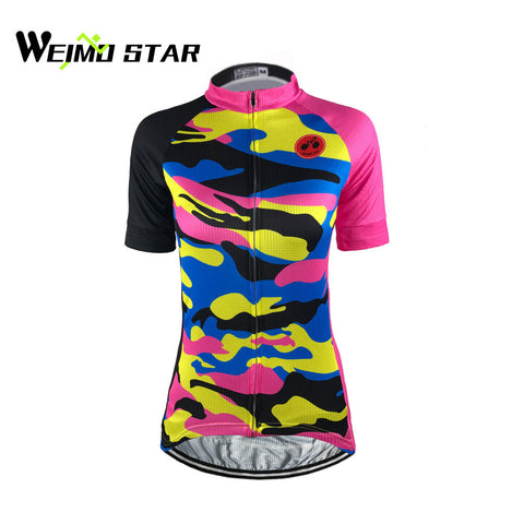 Weimostar Women Ropa Ciclismo Bike Cycling Jersey Cycle Maillot Bicycle Wear MTB Cycling Clothing Racing Sportswear Shirt